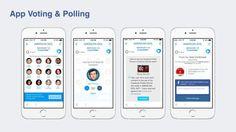 Facebook Social TV - App Voting und Abstimmung für TV Shows