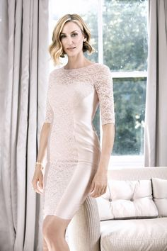 25992 John Charles Mother of the Bride Wedding Outfit 2016 Fashion John Charles, Glamorous Dresses, Taffeta Dress, Outfits 2016, Jacket Dress, Short, Mother Of The Bride, Clothes, Compton House