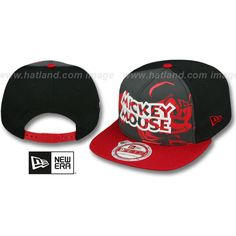 2611d91701b Mickey Mouse POP REFLECT SNAPBACK Hat by New Era ❤ liked on Polyvore  featuring accessories