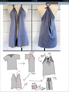 Tshirt vest... but without the cut in the middle a nice Shirt :)