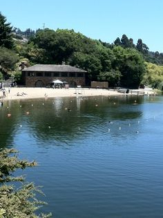 Lake Temescal in the Oakland hills, California