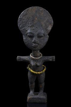"Ashanti fertility doll ""Akua Ba"", Ghana"