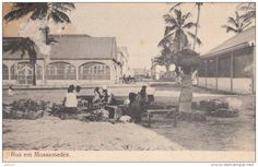 Street in Mossamedes, Angola 1910 Postcards > Africa > Angola - Delcampe.net