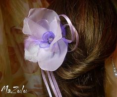 Flower as a brooch or buckle fits the prom ...