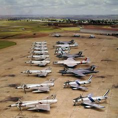 Aircraft of the South African Air force - early 10 x Mirage IIICZ, 4 x Sabre, 3 x Javelin 3 x Canberra 1 x Canberra Military Jets, Military Aircraft, Fighter Aircraft, Fighter Jets, English Electric Canberra, Drones, South African Air Force, Army Vehicles, Air Show