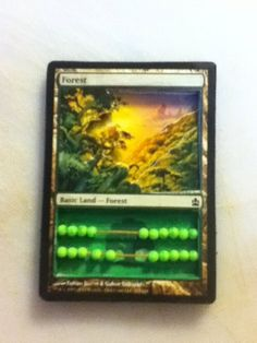 3D Magic the Gathering Abacus Life Counter