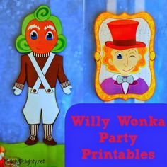 Mighty Delighty: Willy Wonka Party Printables!