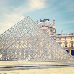 The Louvre And Its Pyramid, Paris. #Travel #France #Museum