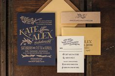 These wedding invitation designs are unique, whimsical, and perfect for your wedding!