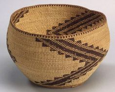Northern California Twined Basketry Bowl | c. 1900