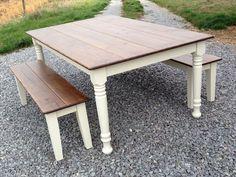 Best 41+ Most Unique Farmhouse Table Design Ideas You Must Have https://decoredo.com/6941-41-most-unique-farmhouse-table-design-ideas-you-must-have/