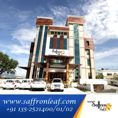 Hotel Saffron Leaf - The Pride Of Dehradun   For booking visit www.saffronleaf.com Call @ +911352521400/01/02/03 Email: info@saffronleaf.com