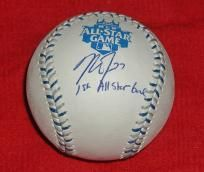 MIKE TROUT SIGNED ALL-STAR GAME BASEBALL AUTOGRAPHED WITH MLB HOLOGRAM and COA!