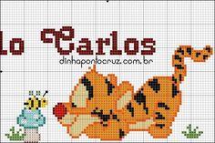 Pixel Art, Winnie The Pooh, Cross Stitch Patterns, Safari, Apollo, Anna, Animals, Cross Stitch Family, Small Cross Stitch