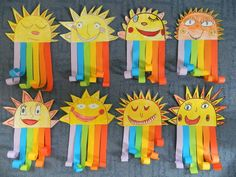 Gespenst - Basteln mit Kids Best Picture For spring art projects for kids flowers For Your Taste You Kindergarten Art Lessons, Art Lessons Elementary, Rainbow Crafts, Rainbow Art, Kids Rainbow, Classroom Art Projects, Art Classroom, Preschool Crafts, Crafts For Kids