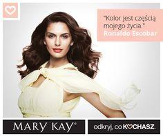 Sprawdź, jak robią to najlepsi, czyli autorskie makijaże Międzynarodowego Zespołu Wizażystów Mary Kay.  Dziś polecamy make-up Ronaldo Escobara.  Zobacz sama: http://bit.ly/1uIOypU  #marykaypolska