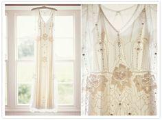 English countryside camp wedding: Melissa + Rob  'Eden' by Jenny Packham wedding dress