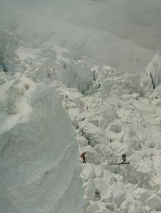 Glacier Skiing - I've heard of dangerous before, but this seems REALLY dangerous since glaciers tend to move!!