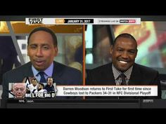ESPN FIRST TAKE: Darren Woodson doesn't thing it's feasible fro cowboys ...