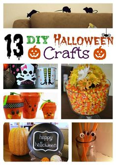 Some cute crafts that puts a litte spark to your Halloween home
