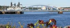 Liverpool NS Discover Canada, Sydney Harbour Bridge, Nova Scotia, Liverpool, Places, Travel, Viajes, Destinations, Traveling