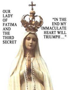 Resultado de imagen para my immaculate heart will triumph