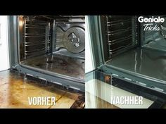 Backofen reinigen ohne zu schrubben - Ofen schnell & einfach sauber machen / Hausmittel Tipp Putzen - YouTube