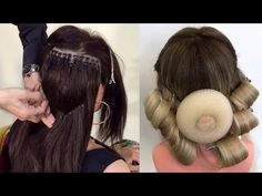 YouTube Dance Hairstyles, Pretty Hairstyles, Wedding Hairstyles, Amazing Hairstyles, Ballroom Hair, Hair Up Styles, Cool Braids, Hair Transformation, Hair Today