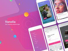 Vanolia Wedding App - iOS
