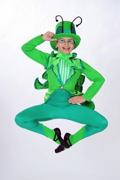Grasshopper Dance Costume by Classically Costumed