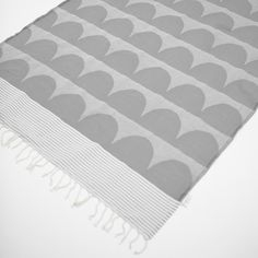 Fine Little Day - FOUTA BLANKET – TU ES LA VAGUE, GREY