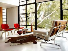 """Living and Lounging Furniture that Doesn't Just """"Sit Around"""" from Herman Miller"""