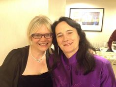 With amazing, talented @carole_mortimer before the Awards ceremony. #RWA15 #RITAGH
