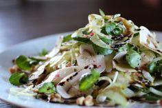 SKINNY: Fennel, Mushroom, Watercress, Parmesan, Walnut, Olive Oil, Balsamic Syrup