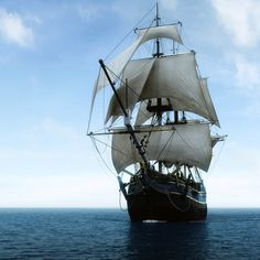 Historic Pirate Ships | Download Old Pirate Ship The Sea Wallpaper Pictures