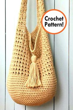 Discover thousands of images about Bag Crochet pattern, crochet Bag Pattern, Bag Crochet, crochet pattern bag Crochet Hobo Bag, Crochet Market Bag, Crochet Handbags, Crochet Purses, Crochet Bags, Cross Body Bag Pattern Free, Hobo Bag Patterns, Boho Crochet, Crochet Shell Stitch