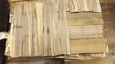 Koa Veneer Cutoffs ~ Hearne Hardwoods Inc.