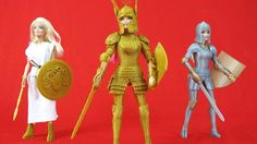 Faire play: Medieval Barbie armor kits on sale for 3-D printers