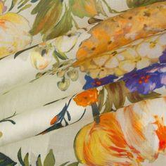 Flora & Fauna Delight! -  Pure Cotton Voile