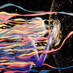 unused album art for currents - tame impala // by aldous massie