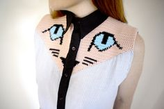 These crochet patches by @lepetitpaquebot are amazing - great idea! http://wp.me/pjlln-2HN #crochet #knithacker
