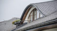 Dach w łupku – krycie łuskowe