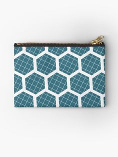 Blue coin purse, Blue Geometric acessories, Blue purse, Blue cosmetic bag, Teal change purse, zipped pouch, Studio pouch, Teal Toiletry bag by ShadowbrightDesigns on Etsy https://www.etsy.com/uk/listing/598945143/blue-coin-purse-blue-geometric