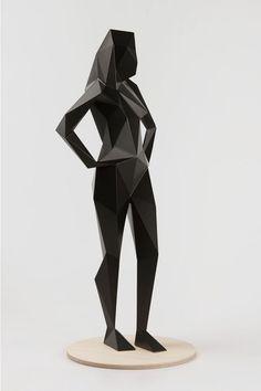 Xavier Veilhan - Alice (Noir) | Oeuvre d'Art en Vente Artsper