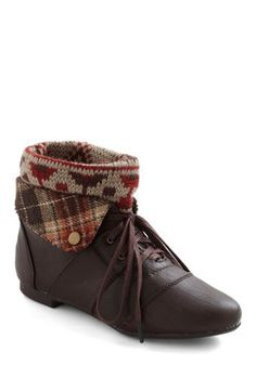 Ru-stick With Me Bootie, #ModCloth