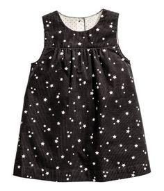 Mouwloze jurk   Donkergrijs/sterren   Kinderen   H&M NL