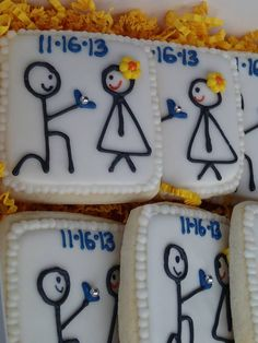 Save the Date engagement cookies