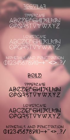 Silent Lips free fonts (letters) for designers