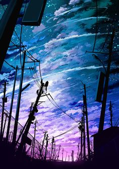 Pin by sandai kitetsu on anime scenery fondos, arte paisajes Scenery Wallpaper, Galaxy Wallpaper, Cool Phone Wallpapers, Unique Wallpaper, Wallpaper Art, Mobile Wallpaper, Fantasy Landscape, Landscape Art, Anime Galaxy