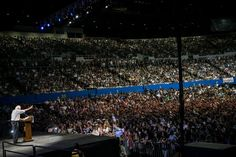 Bernie Sanders' rallies are bigger than Obama's were in 2007. I went to one to find out why.